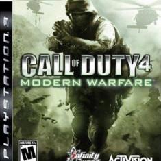 Call Of Duty 4 Modern Warfare Ps3 - Jocuri PS3 Activision, Shooting, 18+