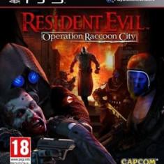 Resident Evil Operation Raccoon City Ps3 - Jocuri PS3 Capcom, Actiune, 18+