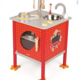 Set Mini-Bucatarie Din Lemn - The French Cocotte (8 Accesorii)