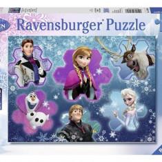 Puzzle Frozen Regina Ghetii, 300 Piese - Jocuri arta si creatie Ravensburger