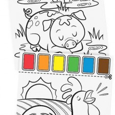 Set De Pictura Cu Apa Ferma Melissa And Doug - Jocuri arta si creatie Melissa & Doug
