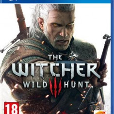 The Witcher 3 Wild Hunt Ps4 - Jocuri PS4, Role playing, 18+