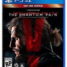Metal Gear Solid V The Phantom Pain Ps4, Shooting, 18+, Single player