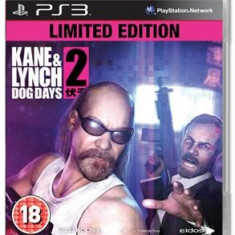 Kane & Lynch 2 Dog Days Limited Edition Ps3, Actiune, 18+, Eidos