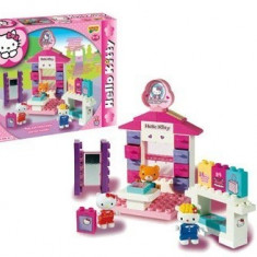 Set Constructie Unico Plus Hello Kitty Minimarket - Jocuri Seturi constructie