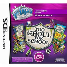 Too Ghoul For School 8 Books Flips Nintendo Ds - Jocuri Nintendo DS Electronic Arts