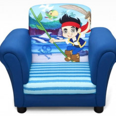 Fotoliu Cu Cadru Din Lemn Disney Jake Si Piratii Din Tara De Nicaieri - Set mobila copii