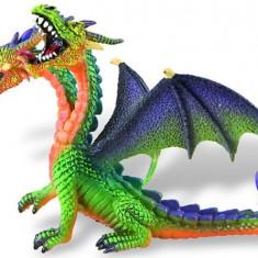 Dragon Verde Cu 2 Capete - Figurina Animale Bullyland