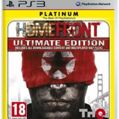 Homefront Ultimate Edition Ps3 - Jocuri PS3 Thq, Shooting, 18+