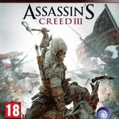 Assassin's Creed 3 Ps3 - Jocuri PS3 Ubisoft, Actiune, 18+