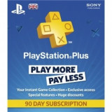 Playstation Plus - 90 Day Subscription Card Ps3