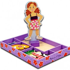 Set Magnetic Sa O Imbracam Pe Maggie Leigh Melissa And Doug Melissa & Doug