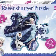 Puzzle Frozen Fulgul De Zapada Al Elsei, 73 Piese - Jocuri arta si creatie Ravensburger