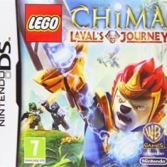 Lego Legends Of Chima Lavals Journey Nintendo Ds - Jocuri Nintendo DS Warner Bros. Games, Actiune, 12+