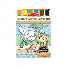 Set De Pictura Cu Apa Safari Melissa And Doug - Instrumente desen