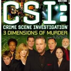 Csi 3 Dimensions Of Murder Ps2 - Jocuri PS2 Ubisoft