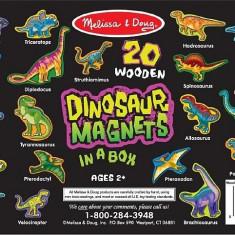 Dinozauri Din Lemn Cu Magneti Melissa And Doug - Jocuri arta si creatie Melissa & Doug
