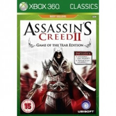 Assassin's Creed 2 Goty Edition Xbox360, Actiune, 18+