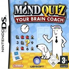 Mind Quiz Your Brain Coach Nintendo Ds - Jocuri Nintendo DS Ubisoft
