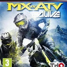 Mx Vs Atv Alive Ps3 - Jocuri PS3 Thq, Curse auto-moto, 3+