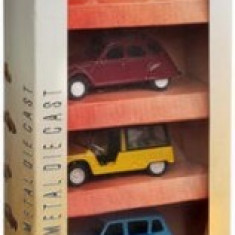 Machete Masinute Franta Vintage Set 5 Bucati - Masinuta electrica copii Mondo