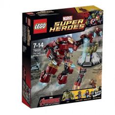 "Legoâ® Super Heroesâ""¢ Lovitura Hulk Buster - 76031 - LEGO Super Heroes"