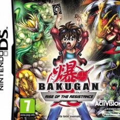 Bakugan Rise Of Resistance Nintendo Ds - Jocuri Nintendo DS Activision