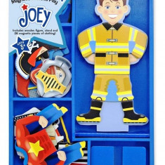 Set Magnetic Sa-L Imbracam Pe Joey Melissa And Doug Melissa & Doug