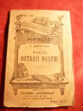 V.Alecsandri- Poezii-Ostasii nostri -Ed.Libr.Universala Alcalay BPT 191 -anii'20