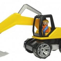 Excavator Din Plastic Cu Figurina 44 Cm Truxx - Vehicul