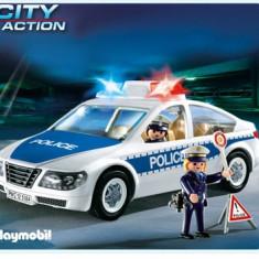 Masina De Politie Cu Lumini - Masinuta electrica copii Playmobil
