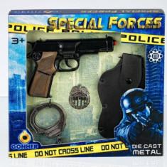Set Pistoale Politie - 8 Capse, Gonher