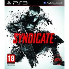 Syndicate Ps3 - Jocuri PS3 Electronic Arts, Shooting, 18+