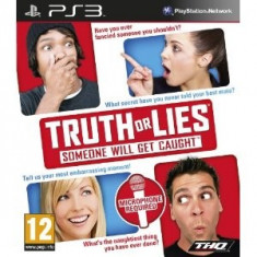 Truth Or Lies Ps3 - Jocuri PS3 Thq, Board games, 12+
