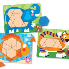 Set De Sabloane Cu Animale Melissa And Doug Melissa & Doug