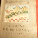 L.Rebreanu - Oameni de pe Someş, cu desene de Lena Constante, Bucureşti, 1936 - Nuvela