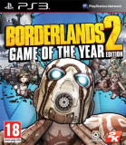 Borderlands 2 Game Of The Year Edition Ps3, Actiune, 18+, 2K Games