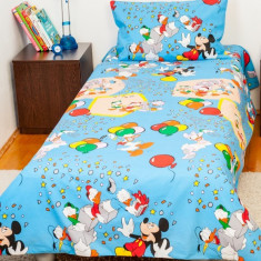 Bebedeco Lenjerie Pat Copii 1 Persoana Mickey