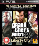 Grand Theft Auto Iv The Complete Edition Ps3, Actiune, 18+, Rockstar Games