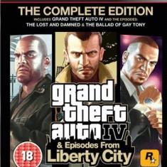 Grand Theft Auto Iv The Complete Edition Ps3 - Jocuri PS3 Rockstar Games, Actiune, 18+