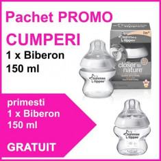 Pachet Promo Biberon 150 Ml + Biberon 150 Ml Gratuit Tommee Tippee