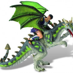 Luptator Pe Dragon Verde Bullyland