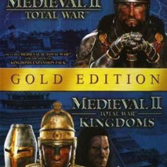 Medieval Ii Total War Gold Edition Pc - Jocuri PC Sega, Strategie, 16+