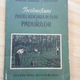 INSTRUCTIUNI PENTRU RIDICARE IN PLAN A PADURILOR - CU PLANSE ANEXE