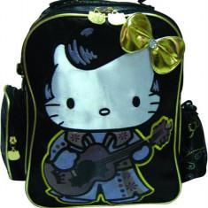 Ghiozdan Gradinita Hello Kitty Gold Bts