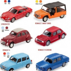 Machete Masinute Franta Vintage - Masinuta electrica copii Mondo