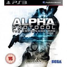 Alpha Protocol Ps3 - Jocuri PS3 Sega