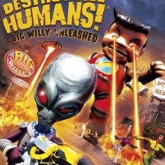 Destroy All Humans 3! Big Willy Unleashed Nintendo Wii - Jocuri WII Thq, Actiune, 3+