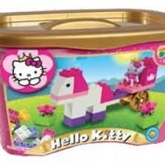 Set Constructie Unico Plus Hello Kitty Galetusa 44 Piese - Jocuri Seturi constructie