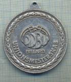 ATAM2001 MEDALIE  980 -SPORTIVA -BILIARD(SNOOKER)-DANEMARCA-starea care se vede